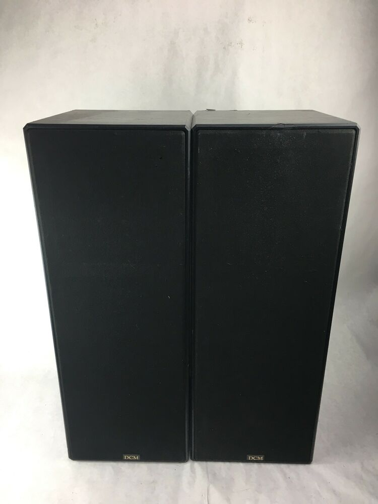 Dcm Cx 27 Speakers X 2 Monitor Series Made In Usa Ebay