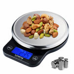 13lb/6kg Digital Electronic Kitchen Scale Meat Diet Food Postal Mailing Compact