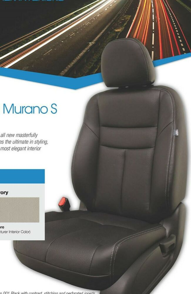 Details About Fits Nissan Murano S Se Sl 2017 2019 Leather Interior Kit All Factory Colors