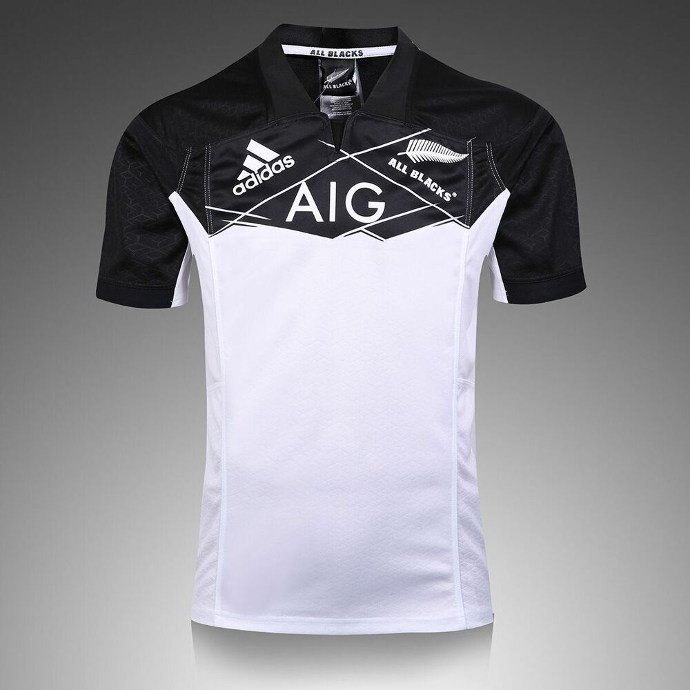 Details about New Zealand MAORI All Blacks 2017 black white rugby jersey  shirt - (S-3XL) e11c1d033