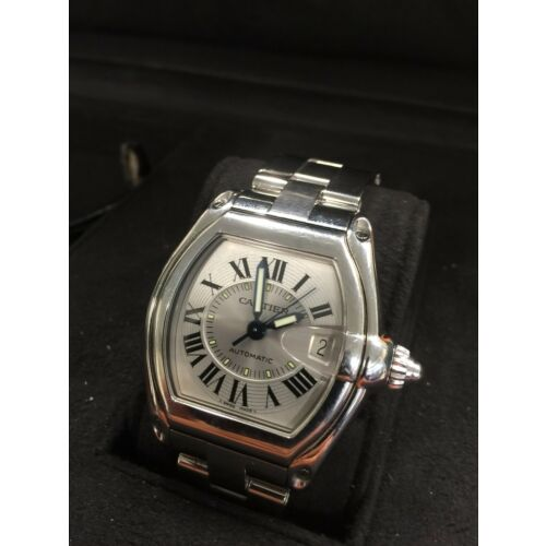 cartier-roadster-gmt-silver-752191ce-mens-wrist-watch