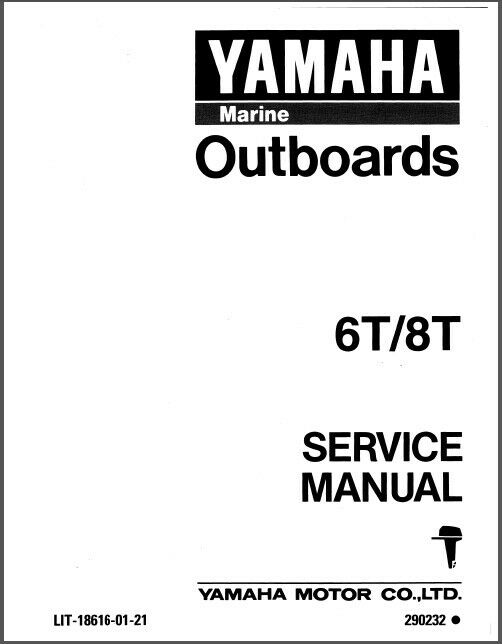 Yamaha 8hp Outboard Motor Manual Best Yamaha Hp Stroke Service