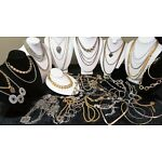 Vintage Estate To Now Huge Chain Jewelry Lot Wear, Repurpose Craft