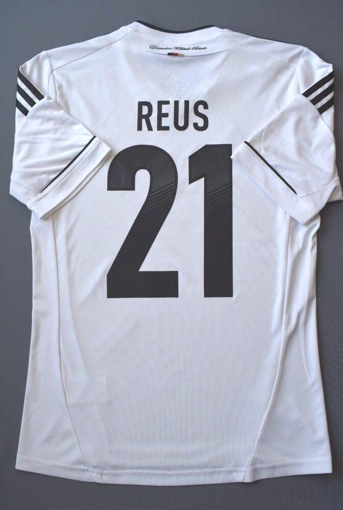 Details about 5 5 GERMANY  21 REUS 2012-2014 FOOTBALL SOCCER HOME SHIRT  JERSEY ADIDAS SIZE S 7aa87ea20
