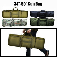 Professional Gun Case Hunting Tactical Rifle Bag Carrying w/ Strap 34-50""