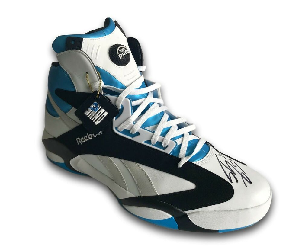 f1c93583288f Details about SHAQUILLE O NEAL SIGNED ROOKIE REEBOK SIZE 22 SHOE COA MAGIC  LAKERS AUTOGRAPH