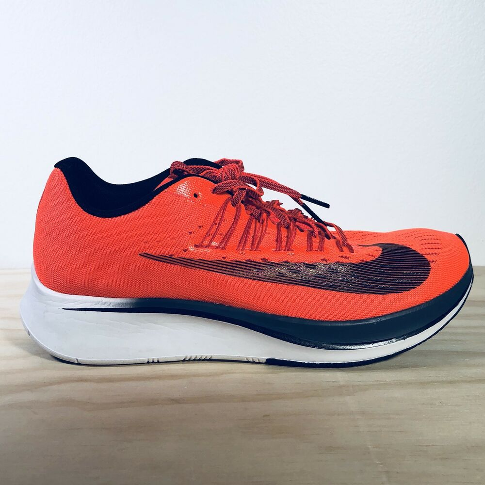 7f6a9a90dc5a Details about Nike Zoom Fly Bright Crimson Black-Blue Fox Men s  880848-614