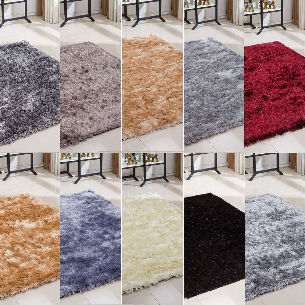 Small and large size thick plain soft shaggy living room - Huge living room rugs ...
