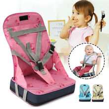 Portable Baby Travel High Chair Dining Feeding Chair Foldable Kids Booster Seat