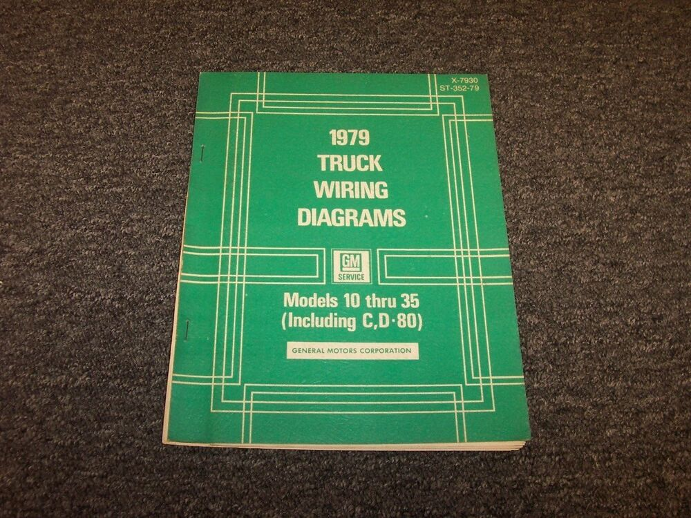 1979 chevy c10 c20 c30 k10 k20 k30 truck electrical wiring diagramdetails about 1979 chevy c10 c20 c30 k10 k20 k30 truck electrical wiring diagram manual
