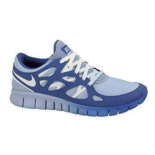 buy popular 75283 be59d Details about Womens NIKE FREE RUN 2 EXT Light Blue Running Trainers  536746 401