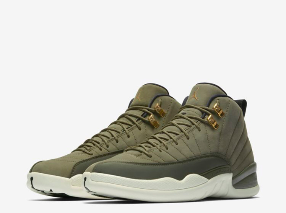 Nike Air Jordan 12 XII Retro CP3 Olive Class of 2003 130690 301 Men s Sizes   048c61419