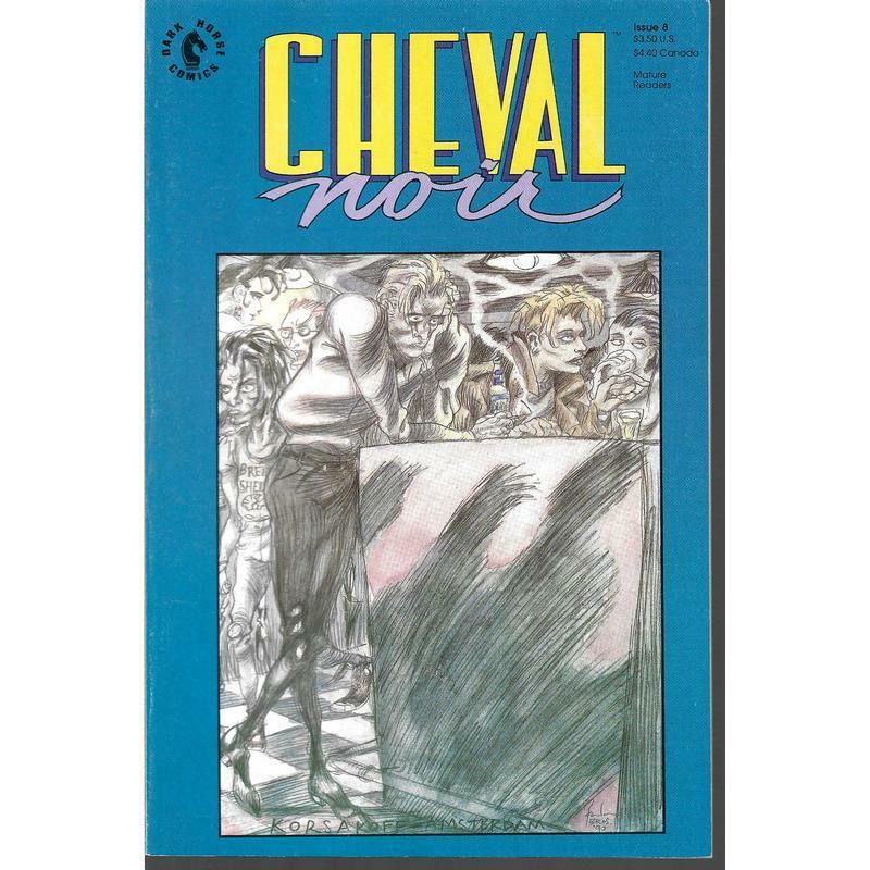 From Fifty Year War To Forever War >> Cheval Noir 8 Dark Horse Comics June 1990 The Forever War Mature