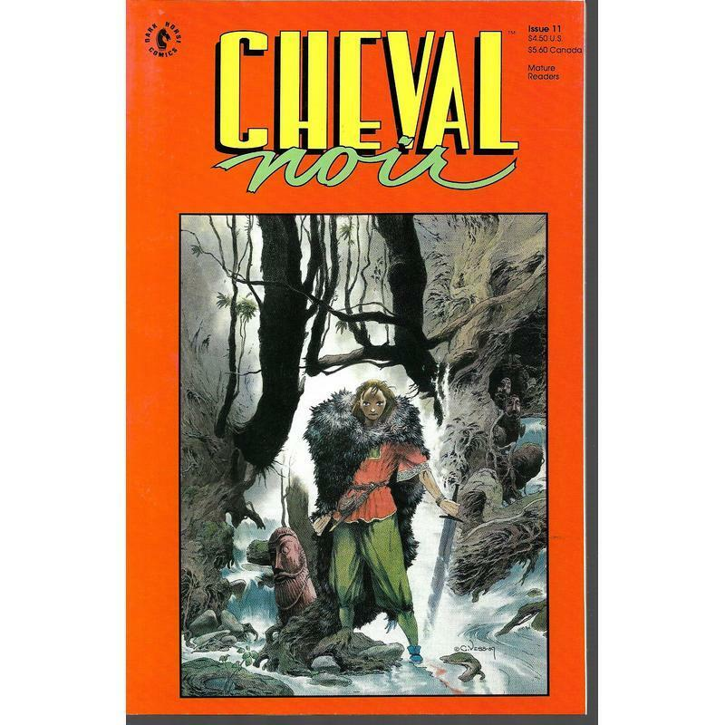From Fifty Year War To Forever War >> Cheval Noir 11 Dark Horse Comics Sept 1990 The Forever War Mature