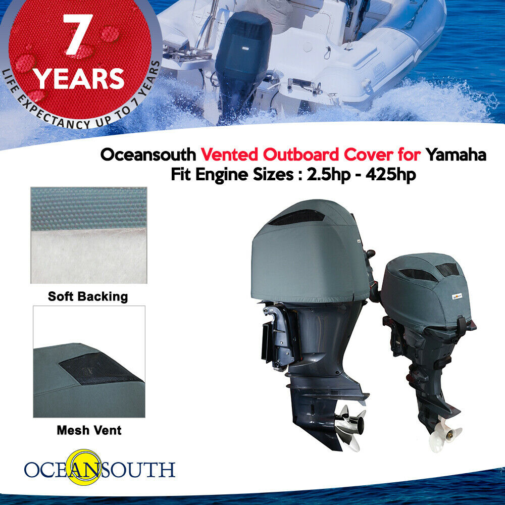Yamaha Outboard Motor Vented Cover Ebay