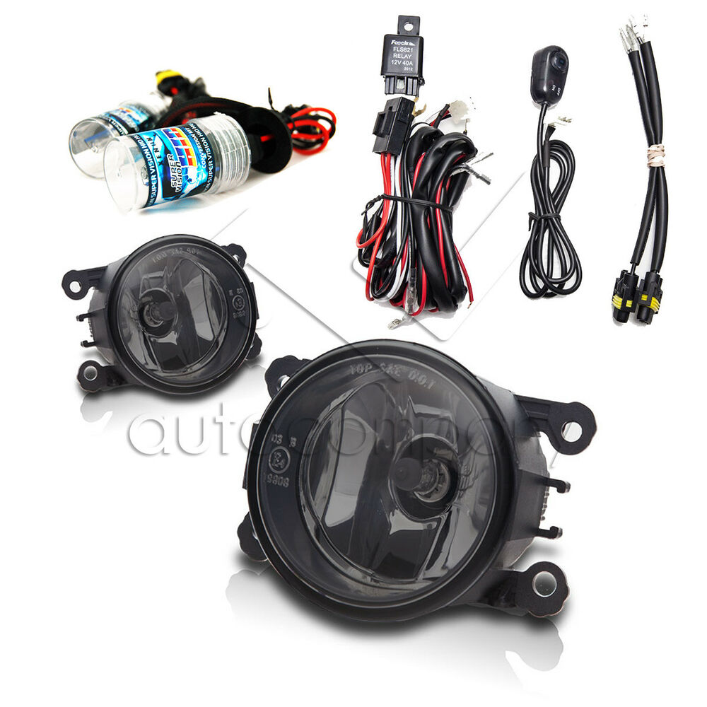 For 2012-2014 Acura TL Fog Lights W/Wiring Kit & HID Kit