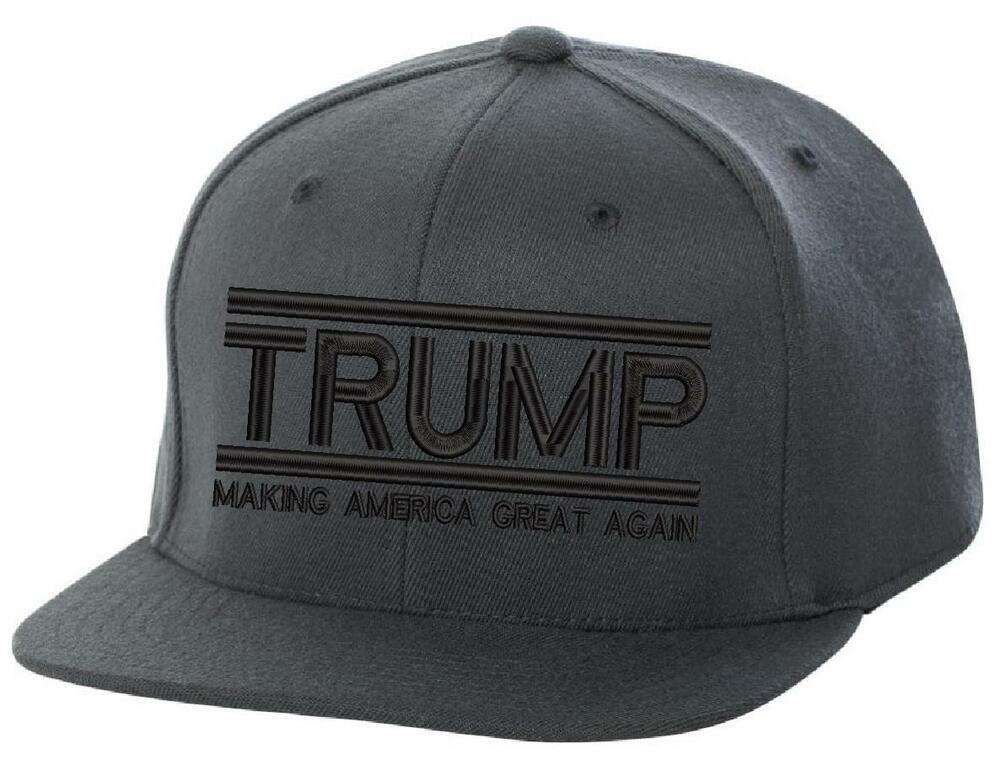 Details about Make America Great Again- Donald Trump Hat 2020-US NEW ERA  Snapback Charcoal Cap 78d3e5ba4ce