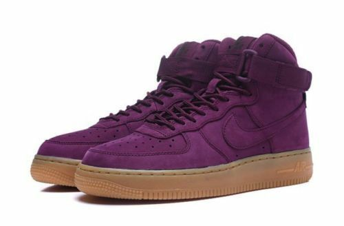 Details about NIKE Air Force 1 ONE WB SNEAKER GS High Bordeaux Black 922066- 600 2bc6e52c1