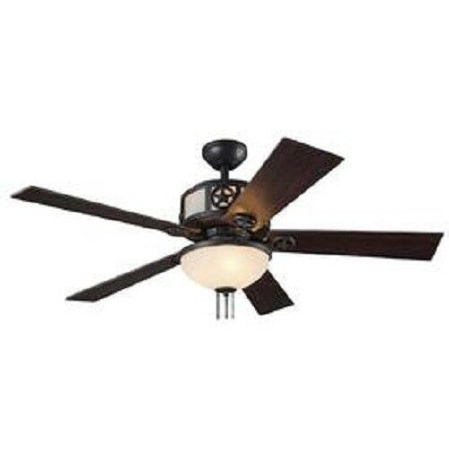 Harbor Breeze Thoroughbred 52 In Matte Black Ceiling Fan Replacements Parts Ebay