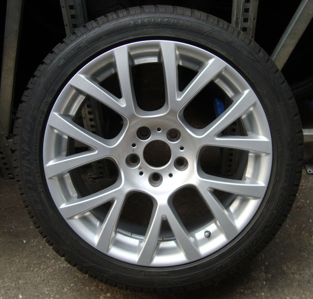 Is The Bmw 7 Series True Main Rival The Audi A8: 4 BMW Winter Wheels Styling 238 245/45 R19 102v M+S 5er Gt F07 7er F01 F02 F04