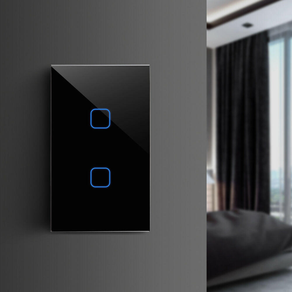 Led Light Smart Touch Screen Wall Switch 1 Way 1 2 3 Gang