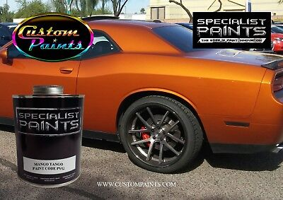 Chrysler - Mango Tango - Paint code: PVG - Urethane Based Automotive, Dodge