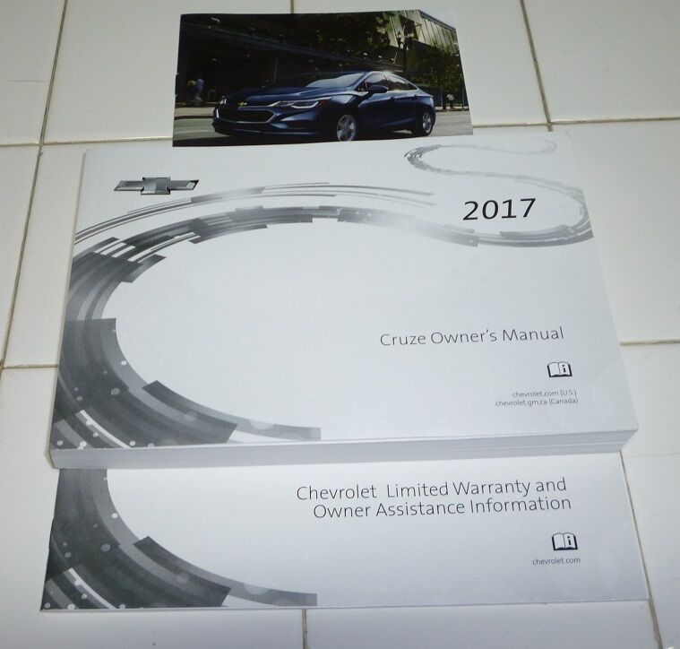 2017 chevy cruze owners manual