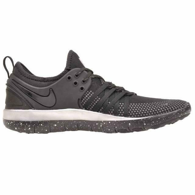 3fd306125 Details about Womens NIKE Free Tr 7 Selfie Running Black Trainers AH5734 001