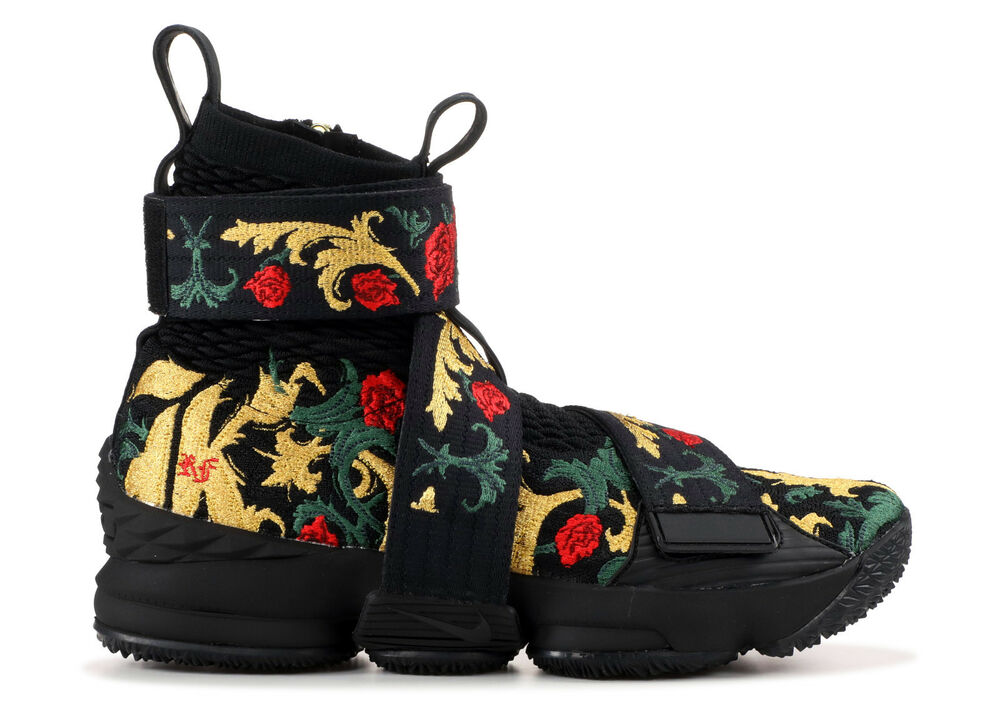 b44238dae7fab Details about Nike Lebron 15 x KITH Lifestyle AO1068 001 Kings Cloak Men s  Size 7.5 Brand New