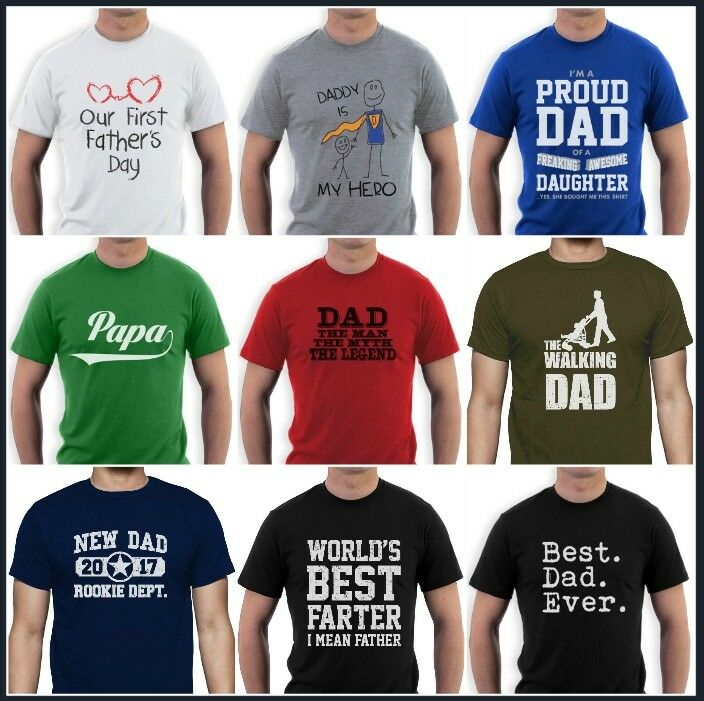 cd87cdae Details about Father's Day Birthday T-Shirt Dad Superhero Daddy Funny  Greatest Farter Best. >