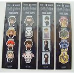 Harry Potter Magnetic Page Clips/Bookmarks  Four - 4 Packs (16-Count)