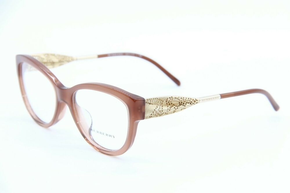 094078675c7 Details about BRAND NEW BURBERRY B 2210 3173 BROWN EYEGLASSES AUTHENTIC  FRAMES RX B2210 53-17