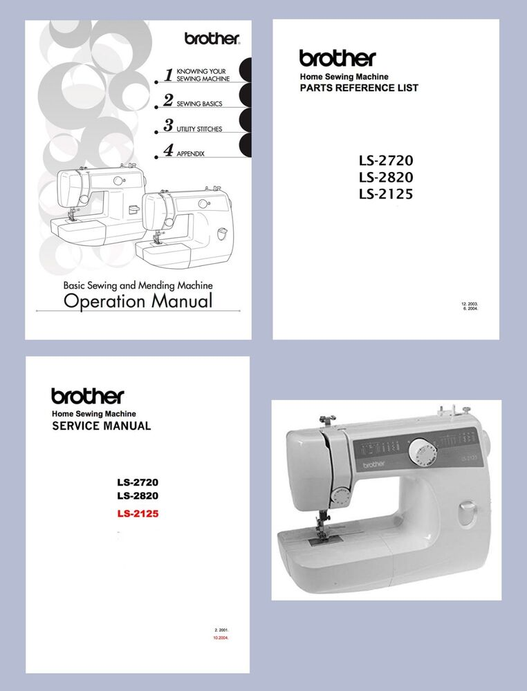 BROTHER LS40 LS40 LS40 INSTRUCTION MANUAL Or Service Classy Brother Sewing Machine Ls2125