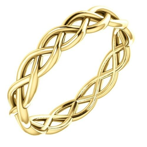 solid-14k-gold-woven-infinity-design-wedding-band-ring-size-4-12