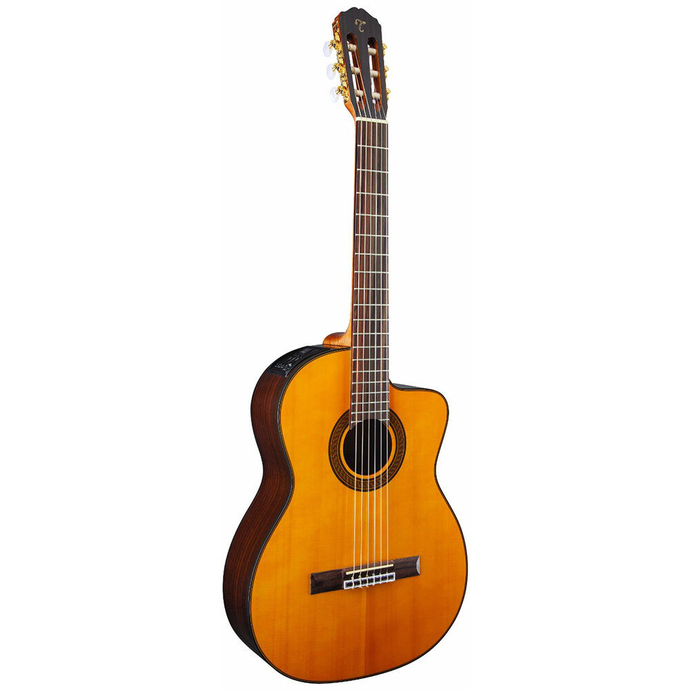 takamine gc5ce acoustic electric classical cutaway nylon string guitar natural ebay. Black Bedroom Furniture Sets. Home Design Ideas