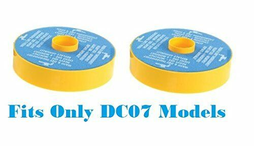 2 Dyson DC07 Primary Washable Blue Foam Filters, Generic For Dyson Part 904979-0
