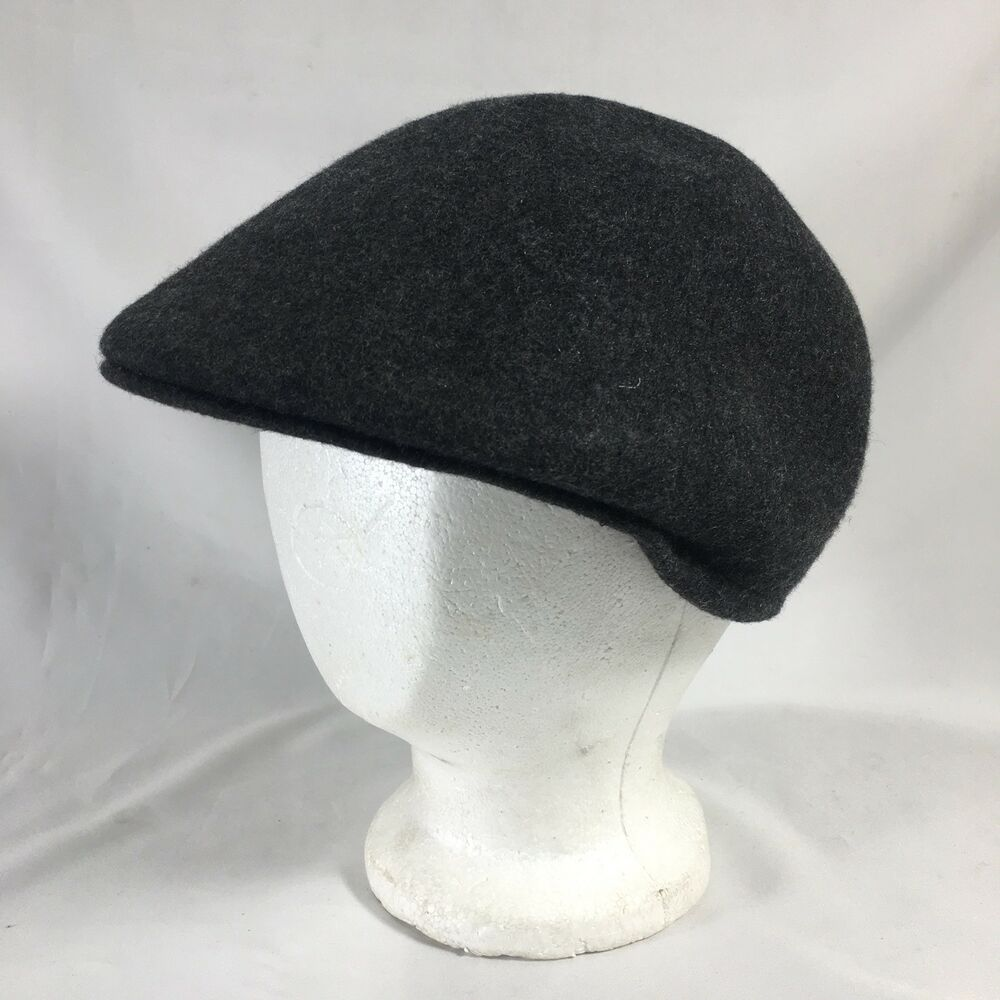 Details about Country Gentleman Brushed Wool Ivy Cap Newsboy Cabbie  Charcoal Size XL ca719b46b3c3