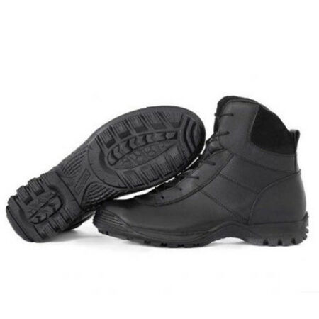 img-Men's Combat Boots Shoes Tactical Russian Leather Garsing Winter Fleece Black
