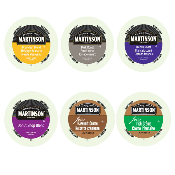 Martinson @ .25 per cup 96 K Cups value Pack! Just Pick Your Roast or Flavor!