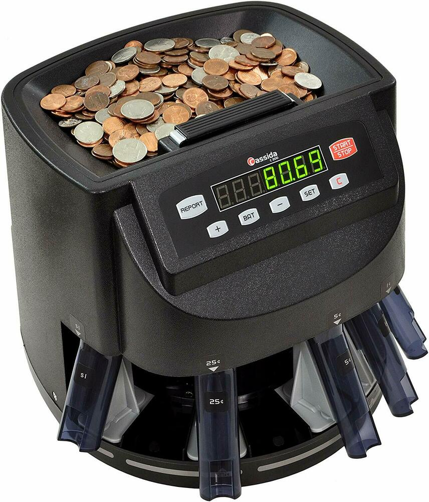 automatic coin sorter and wrapper