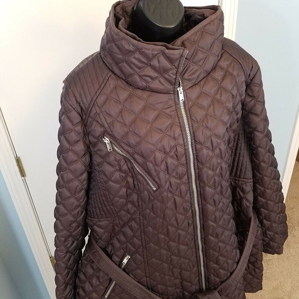 Nwot Marc New York Andrew Marc Quilted Jacket Plus Size 3x Gunmetal Ebay