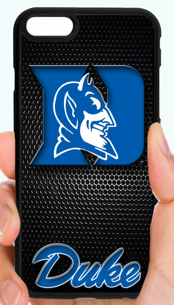 finest selection 3933f f4ecf DUKE BLUE DEVILS COLLEGE PHONE CASE COVER FOR iPHONE XS MAX X 8 7 6S PLUS  5C 5 4 | eBay
