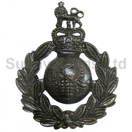 img-Royal Marines Other Rank Cap Badge (Bronze)