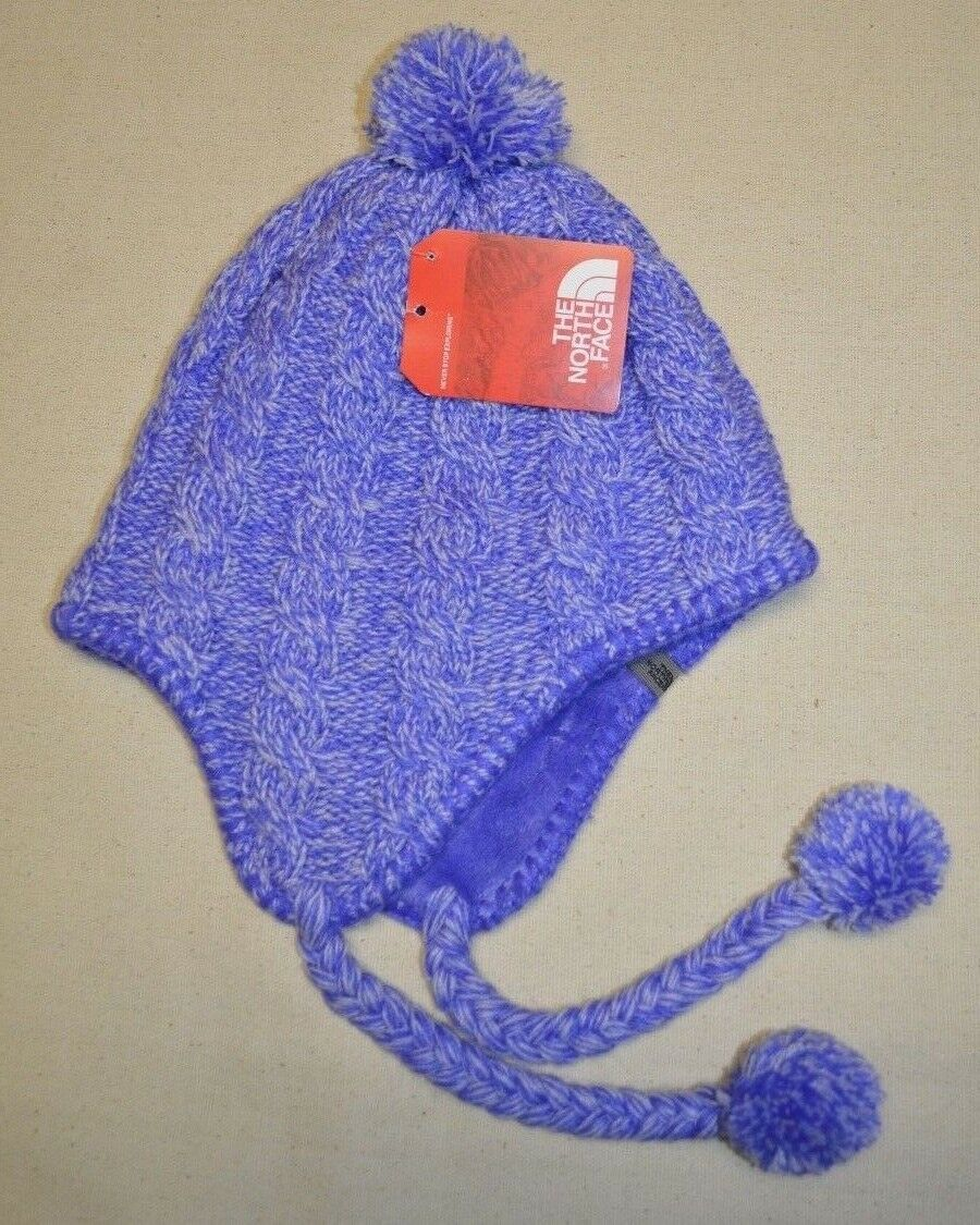 9c8649b642d UPC 700051649028 product image for North Face Women s Beanie Hat Fuzzy  Earflap Pompom Lined One Size ...