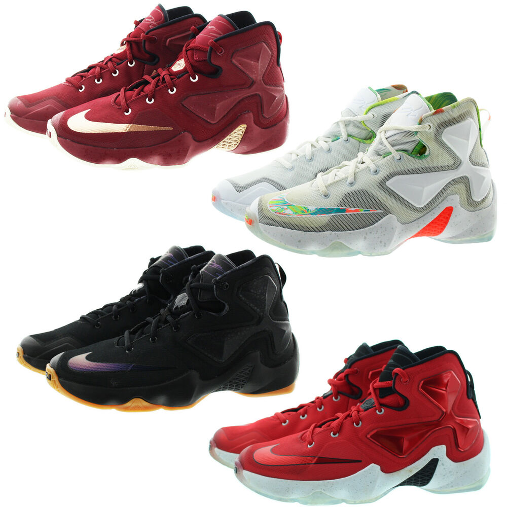 new concept 428e4 f33ad Details about Nike 808709 Kids Youth Boys Girls Lebron 13 Athletic  Basketball Shoes Sneakers