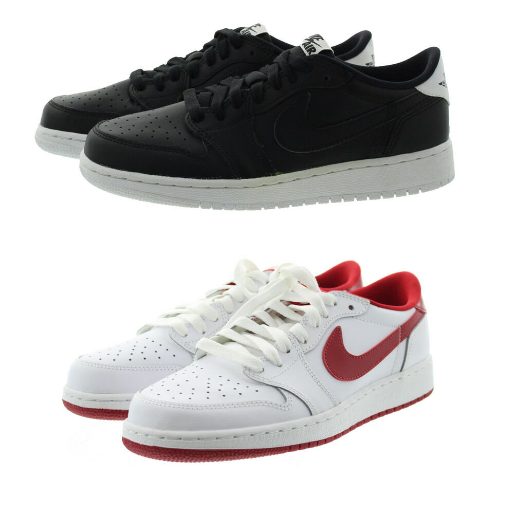 f306f2efc5c518 Details about Nike 709999 Kids Youth Boys Air Jordan 1 Low Top Leather  Shoes Sneakers