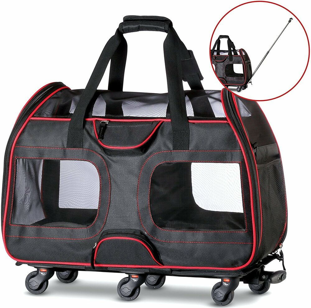 50 Off Quot Used Quot Airline Approved Pet Carrier With Wheels