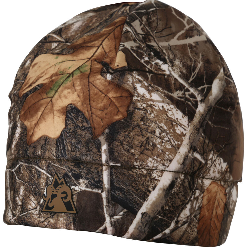 7151fa6b6eee3 Details about ROCKY PROHUNTER REVERSIBLE CAMO FLEECE BEANIE