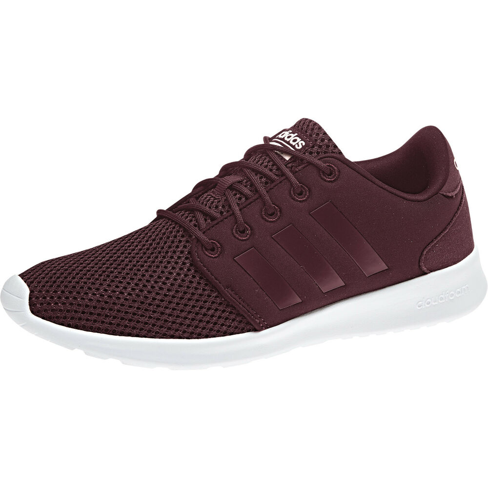 83876eed090 Details about Adidas Women Running Shoes Cloudfoam QT Racer Fashion  Sneakers Boots B43760 New