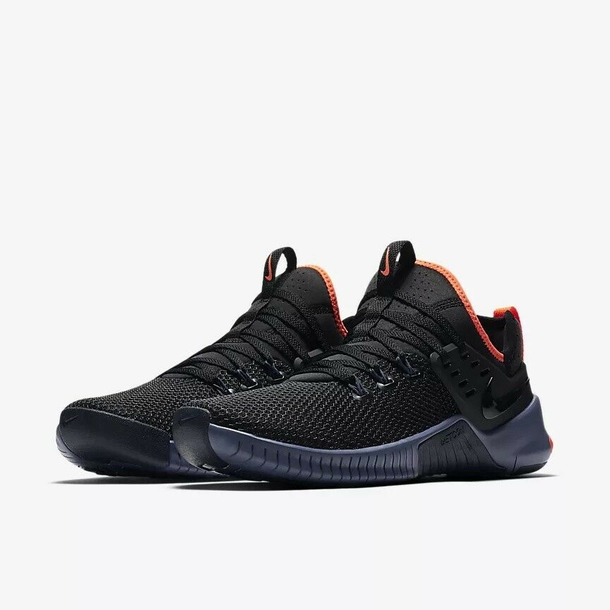 b115d916d238 Details about Nike Mens Free Metcon Black Thunder Blue Training Shoes  AH8141-048 Size 12.5